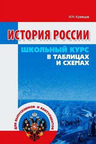 История России. Школьный курс в таблицах и схемах