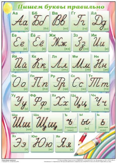 Пишем буквы правильно А4 (2515)